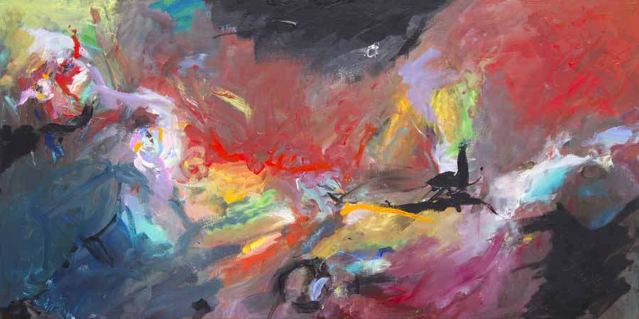 schilderij painting alma dutch artist coen van ham eindhoven cuerpo 3