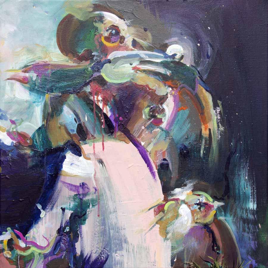 schilderij painting alma dutch artist coen van ham eindhoven tovar