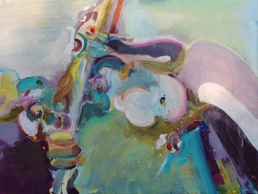 schilderij painting coen-van-ham-2018-ALMA-juego-80x60cm