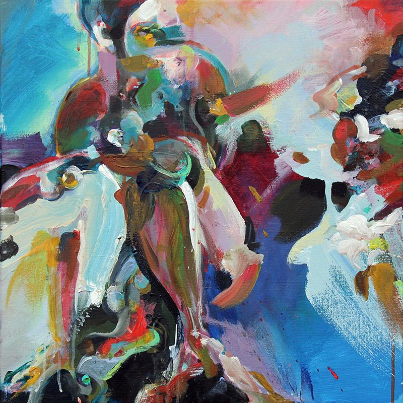 alma kleurrijk expressionistisch schilderij