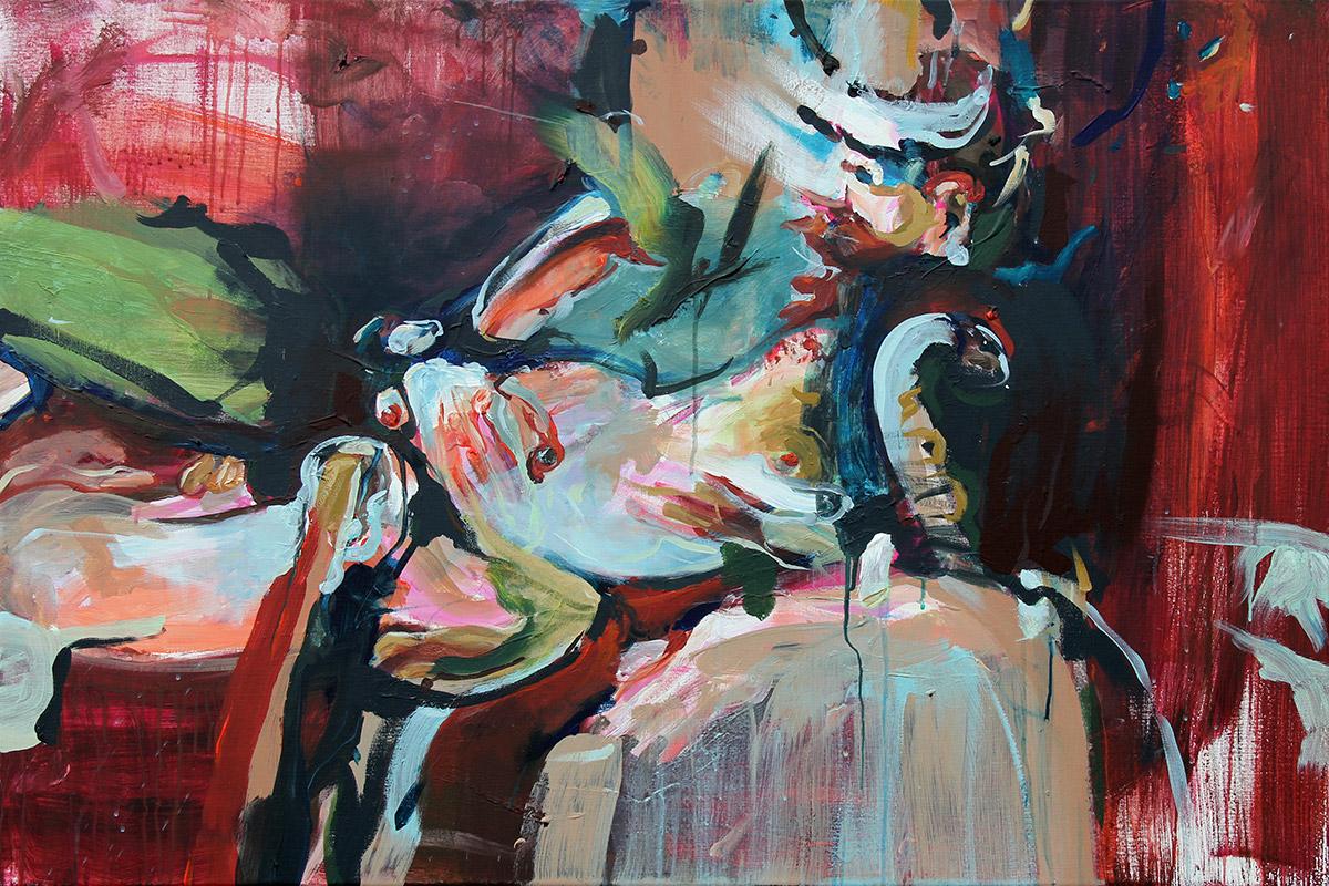 alma painting painter coen
