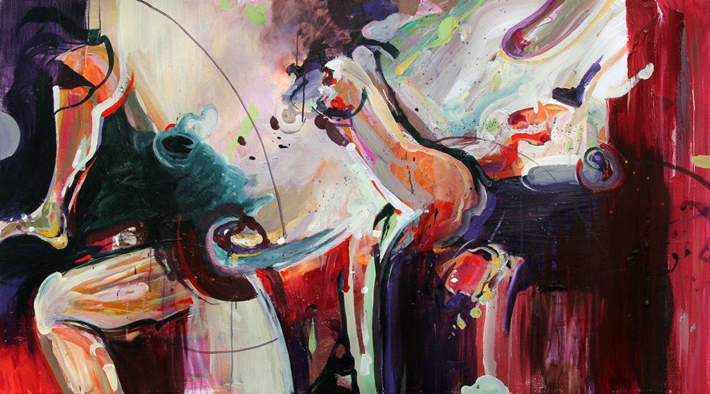 schilder kunstenaar coen van ham schilderij