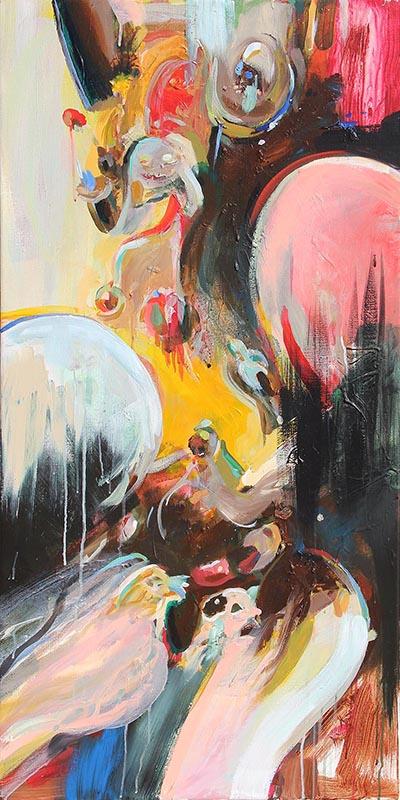 schilderij kunstenaar coen