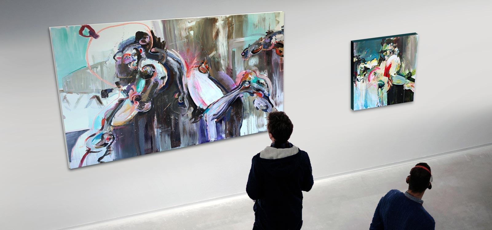 galerie persoon schilderij coen van ham